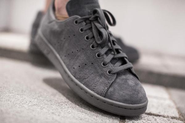 adidas stan smith daim gris