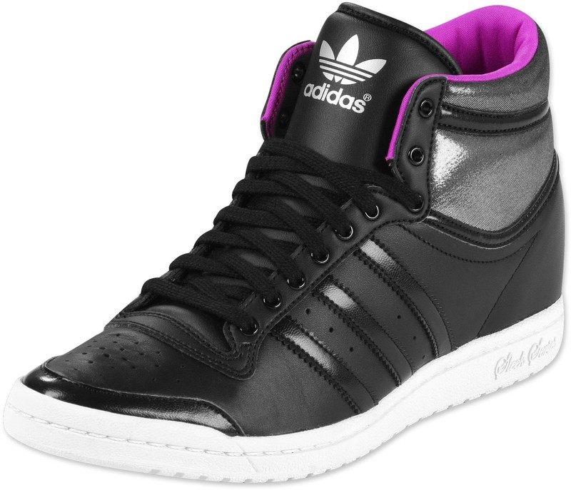 adidas top ten hi sleek noir brillant