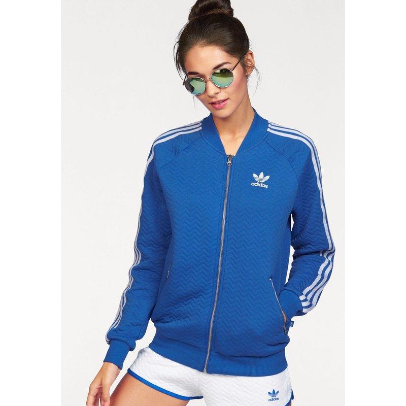veste adidas bleu