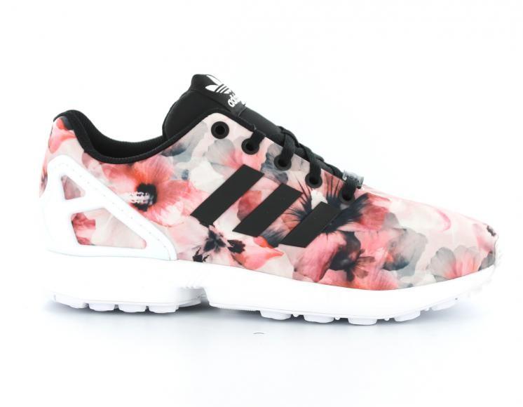 basket adidas zx flux fleur