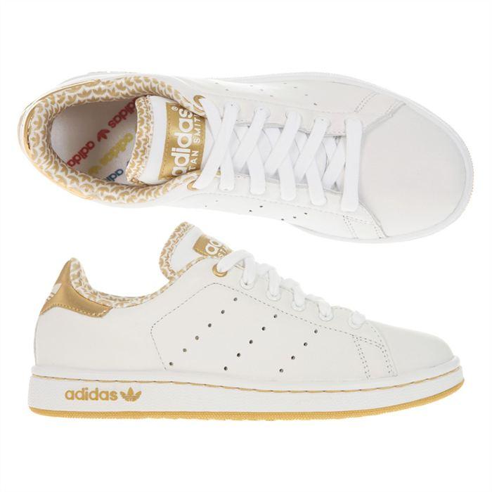 basket adidas femme stan smith dore
