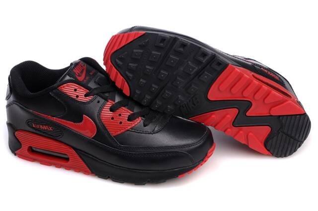nike air max 90 rouge et noir