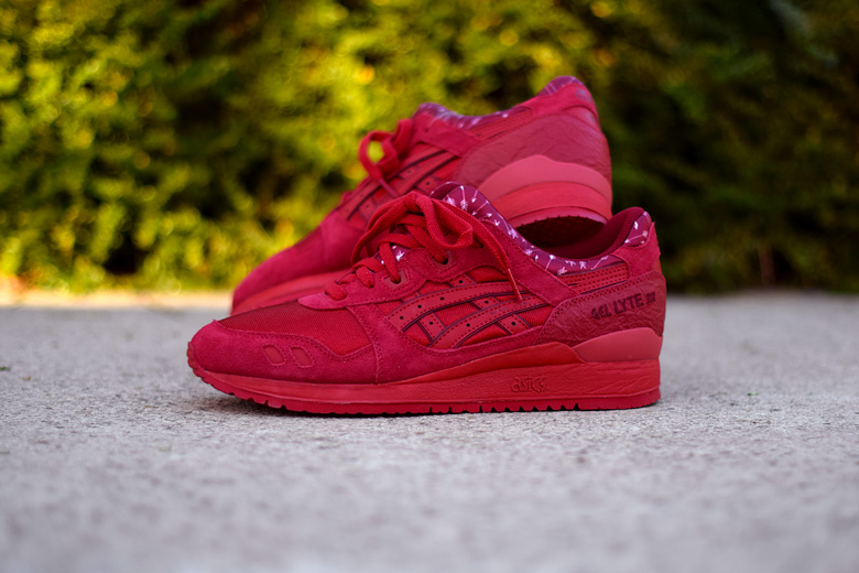 asics gel lyte rouge