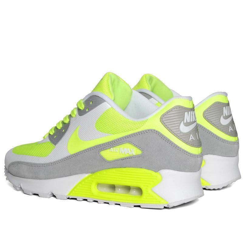 air max 90 gris jaune