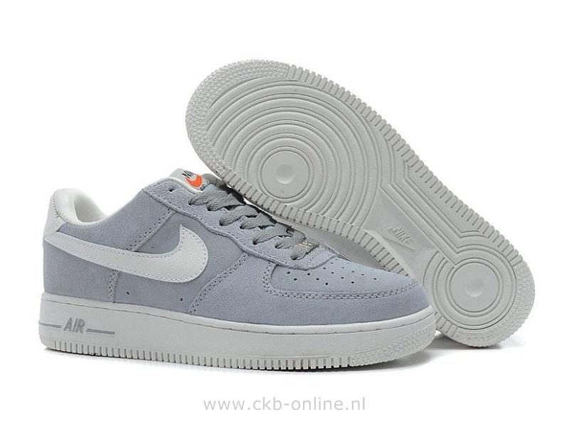 nike air force 1 grise daim femme